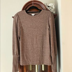 A New Day balloon sleeve pullover size small